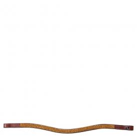 BR Frondeel gebogen Swarovski 40001 4-row