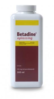 Betadine Oplossing 500