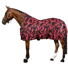 Outdoor blanket Winter Resort 300gr Army Pink aop 215